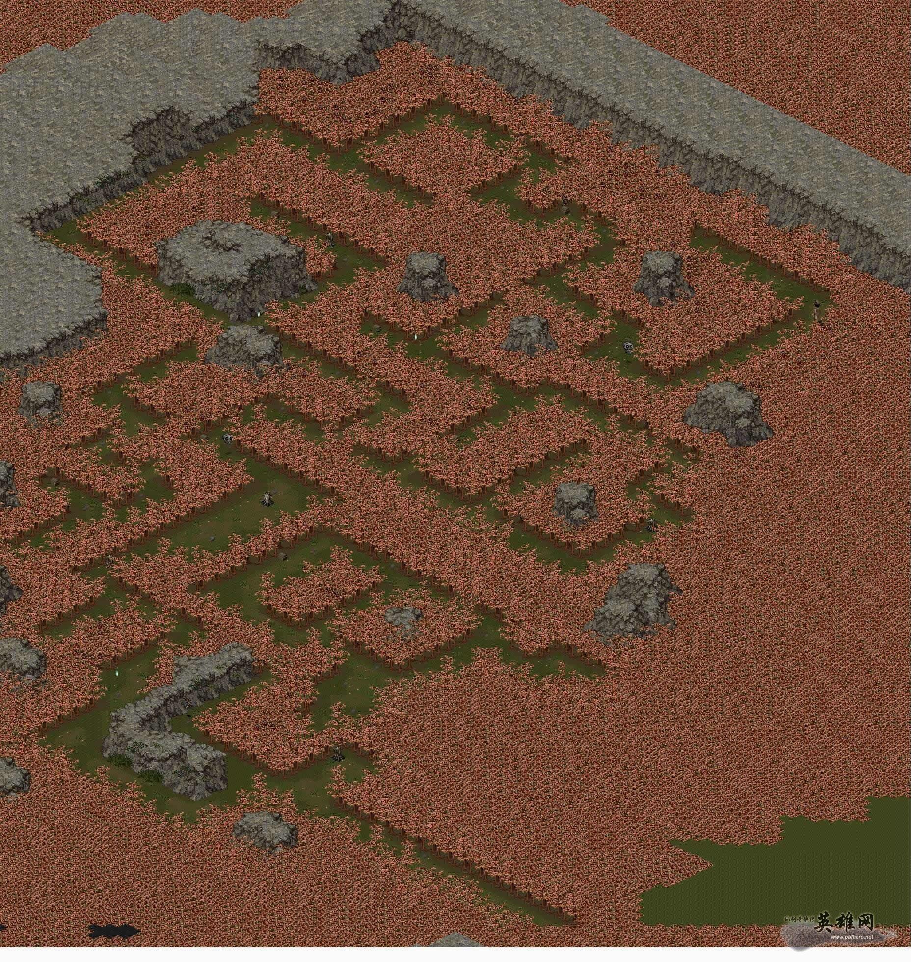 《仙剑98柔情篇》迷宫地图